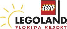 A logo for LEGOLAND Florida Resort