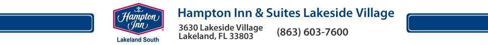 Hampton Inn & Suites Lakeland South Polk Parkway