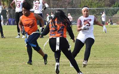 Flag football is a big score for Polk County