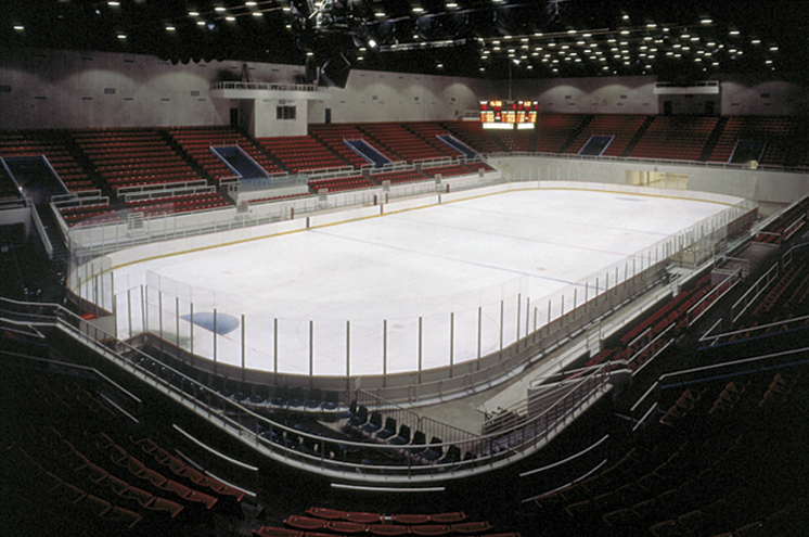 The RP Funding Center when it hosted a hockey game