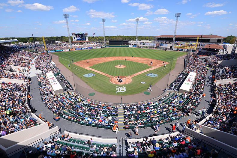 2017 Spring Training in Lakeland, Florida. Photo by Mark Cunningham
