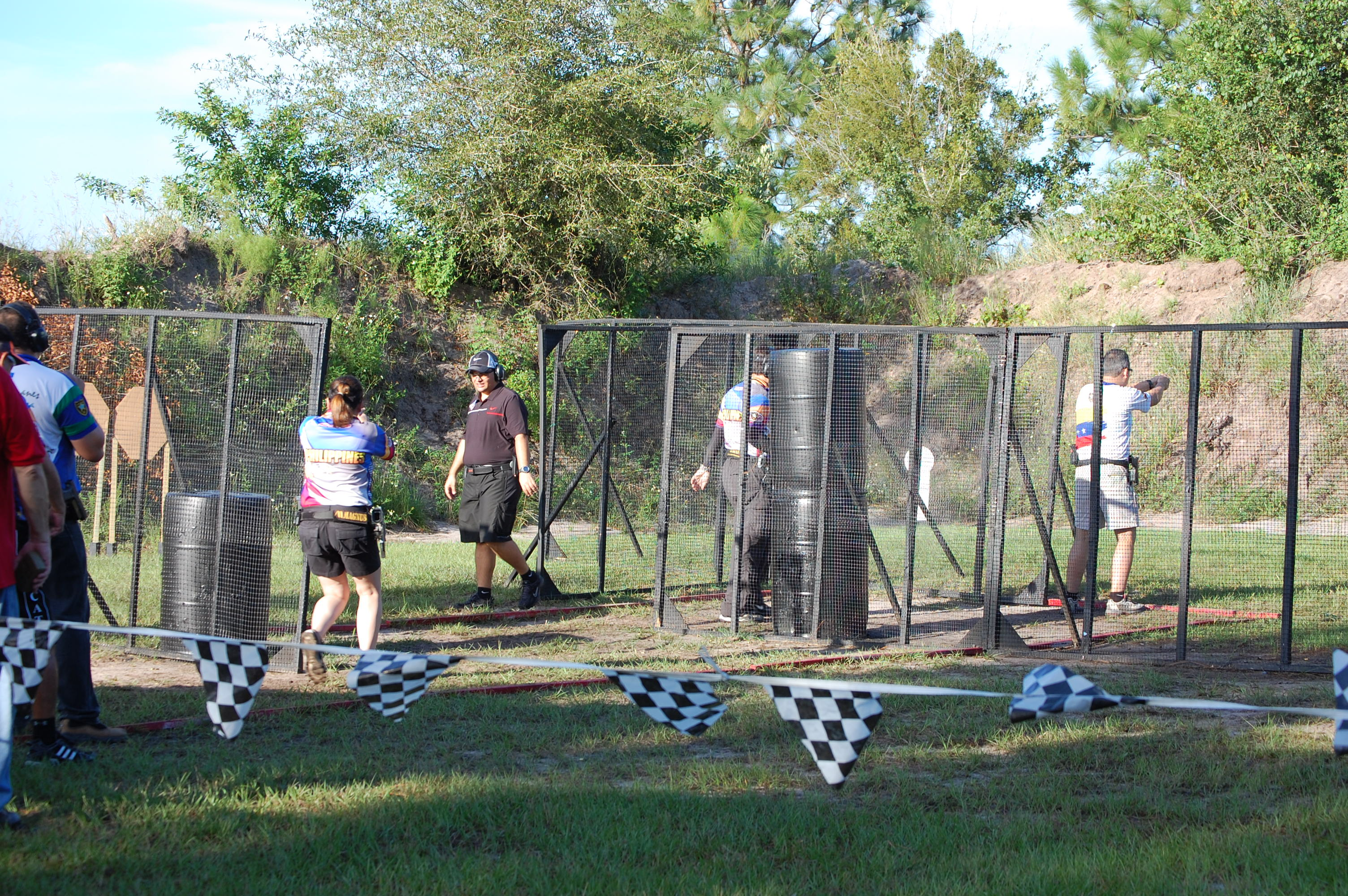 A tournament at Universal Shooting Academy in Frostproof