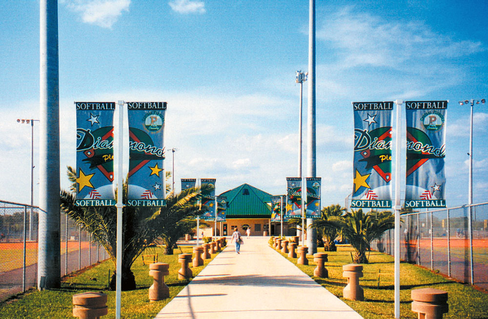 The front of the Diamond Plex in Winter Haven