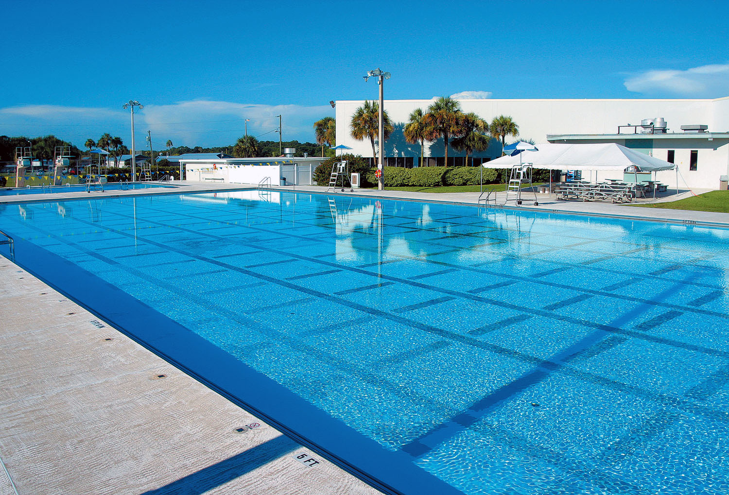 The Rowdy Gaines Aquatic Center in Winter Haven
