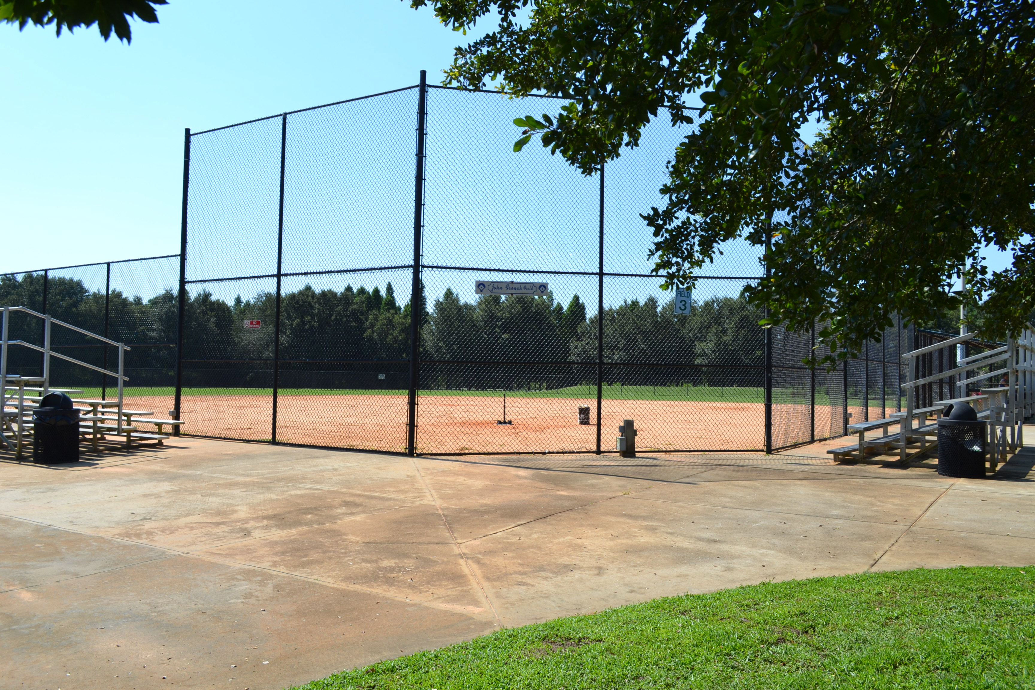 Softball fields at Lake Bonny Park