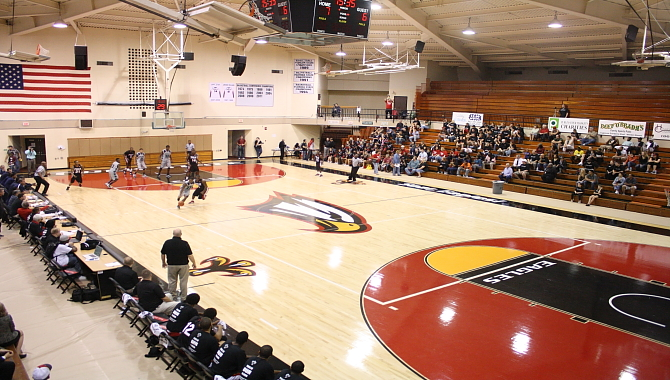 The Polk State College Basketball arena