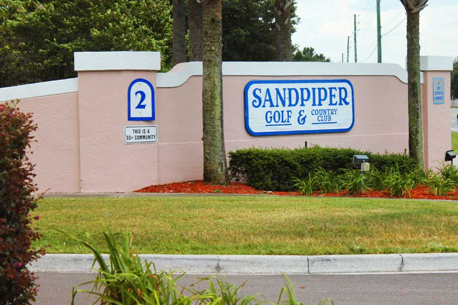 The Sandpiper Golf and Country Club in Lakeland
