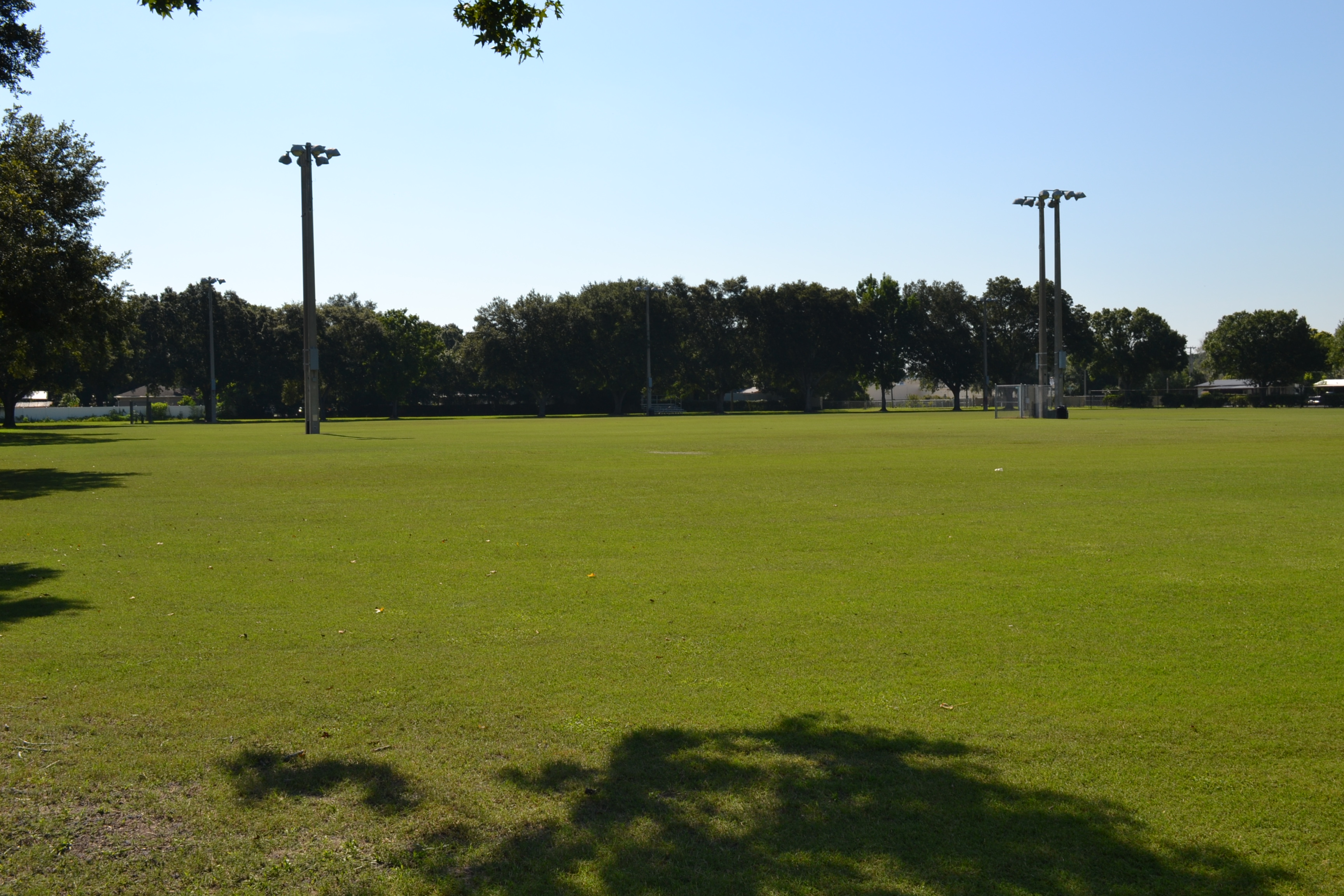 A view of the field at the Southwest Complex