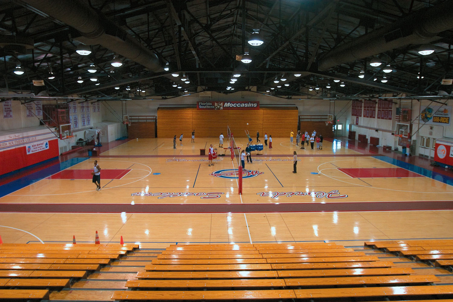 The George W. Jenkins Field House at Florida Southern
