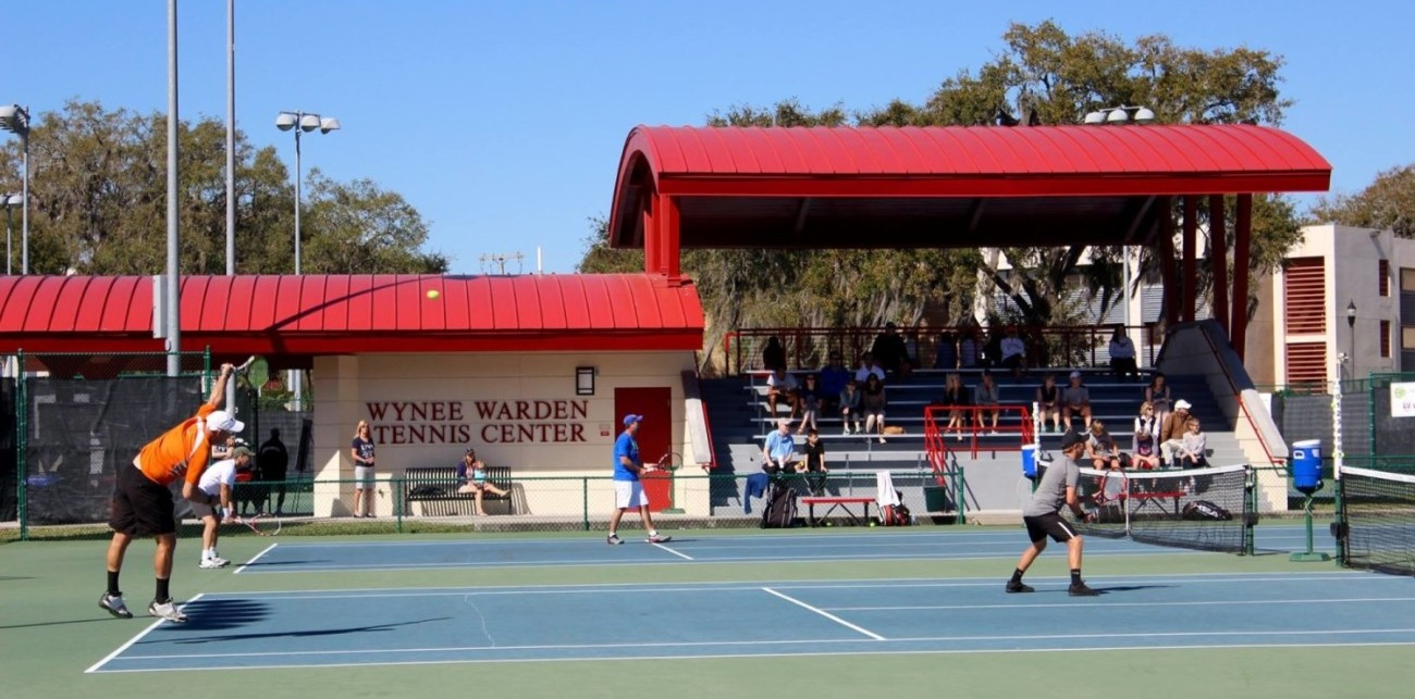 The Wynee Warden Tennis Center at Florida Southern