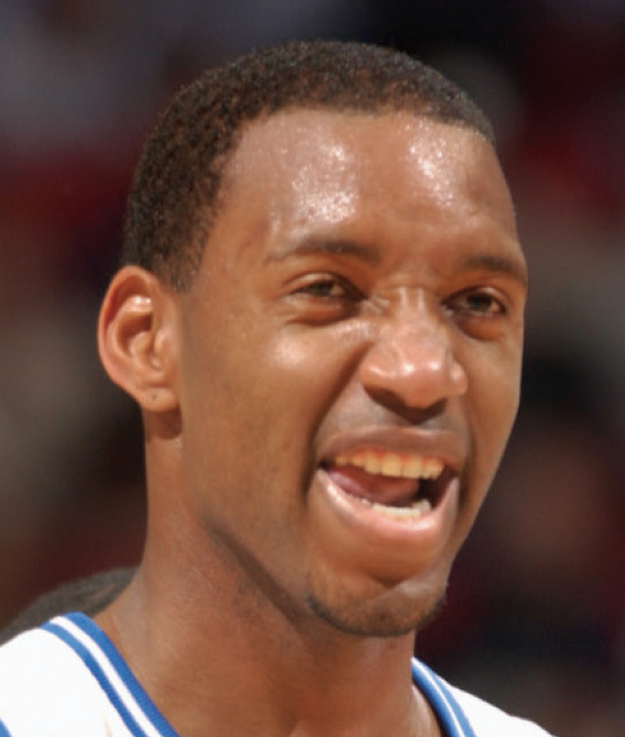 2015 Hall of Fame inductee Tracy McGrady Jr.