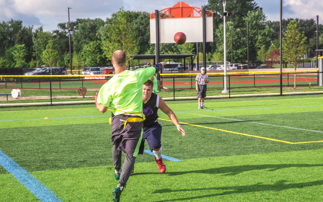NERP hosts flag football's best