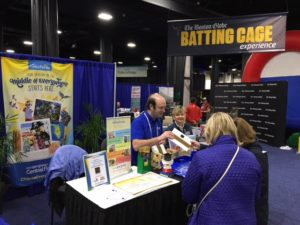 Representatives of Central Florida at the Boston Globe Travel Show