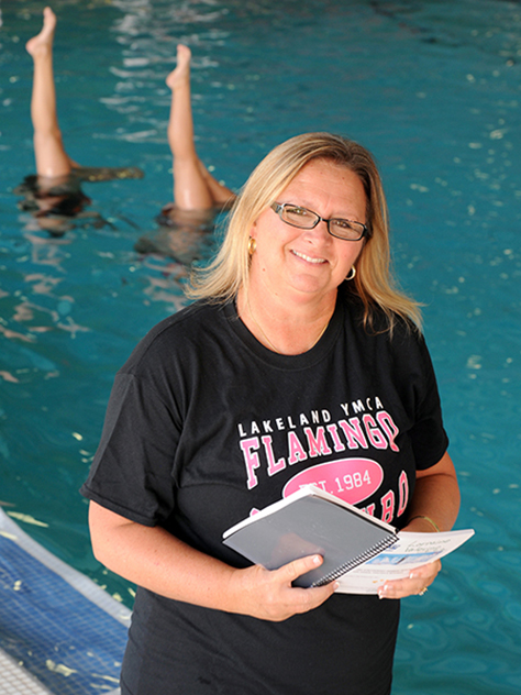 Lorraine Valerino, director of the Lakeland YMCA