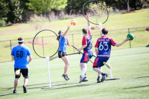 Players battle over quidditch