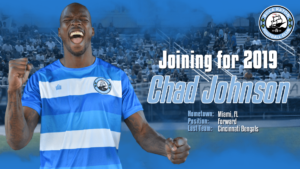 A picture of soccer player Chad Johnson of Boca Raton