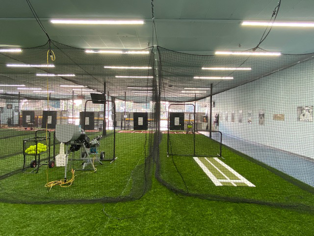 A look at the simulation cages at Going 406, a baseball and softball training facility in Lakeland.