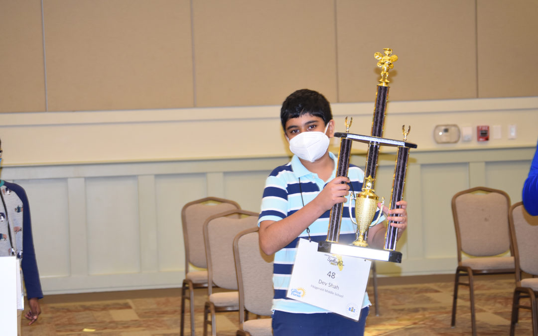 Shah repeats as Central Florida Spelling Bee champion